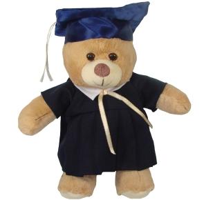 Oso de peluche graduando