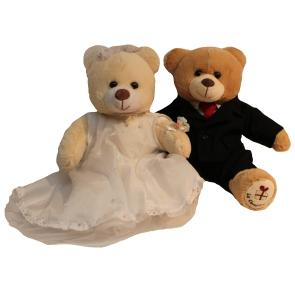 Regala un tierno juego de osos de peluche para ese nuevo matrimonio - La Confiteria