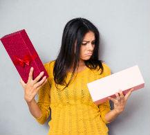 Errores más comunes al elegir un regalo