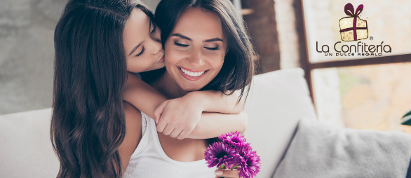 Hija compartiendo con su madre