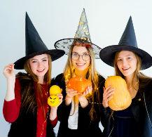 Regala felicidad en Halloween