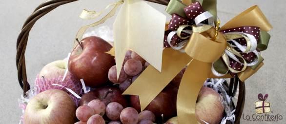 Ancheta de frutas para regalar en Navidad