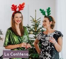 colaboradoras celebrando la navidad