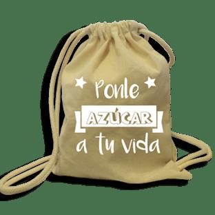 Regalo mochila mensaje - Alfajores