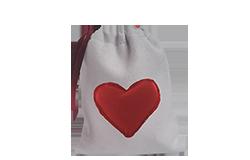 Bolsa corazón especial
