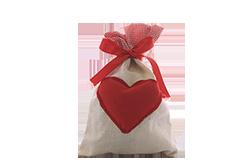 Regalo bolsa corazón gomitas