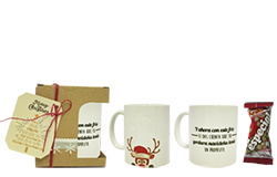 Regalo original Rudolf mug