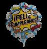 Globo Feliz cumpleaños pow