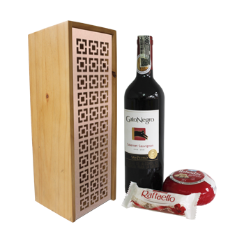 Art deco wine box