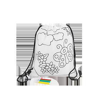 Regalo mochila para Colorear