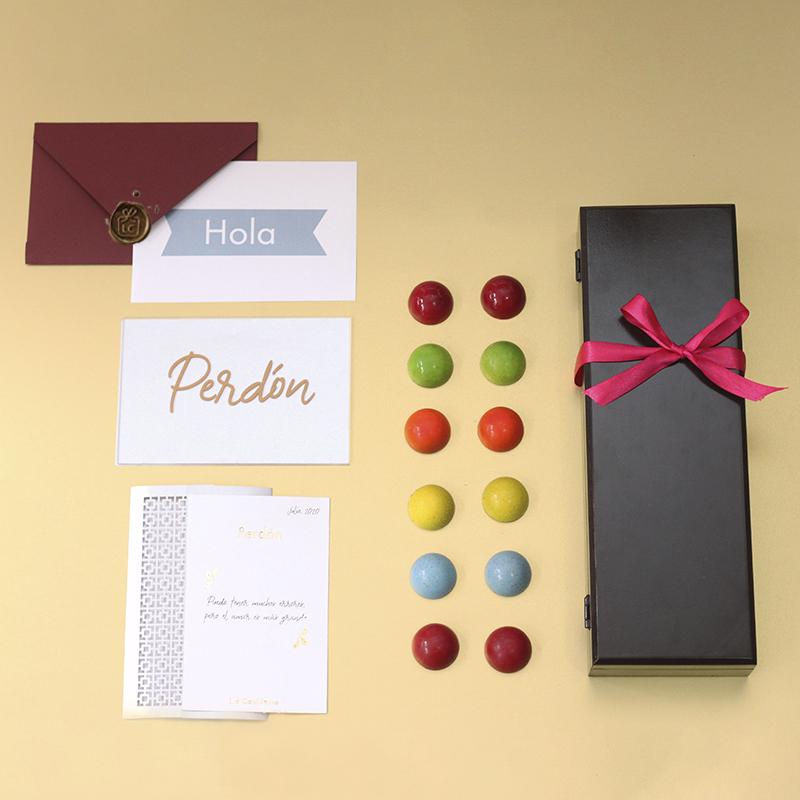 Pedir perdón con chocolates es más facil