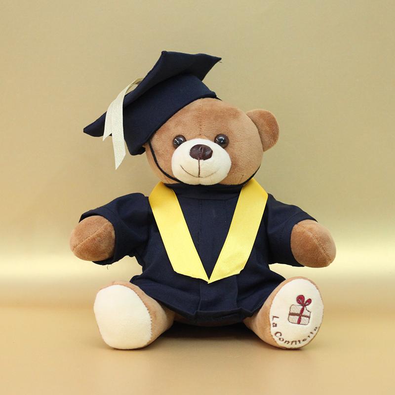 Oso de peluche graduado